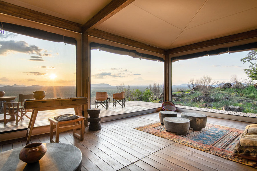New Safari Lodge Located on 120,000 Private Acres in Namibia -Africa