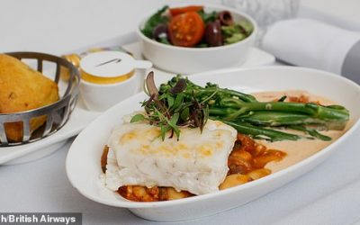 British Airways launches First Class food delivery boxes just like the meals they serve onboard