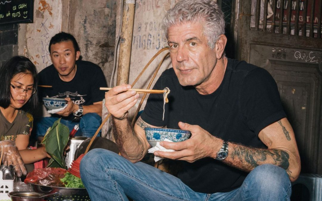 ANTHONY BOURDAIN'S NEW BOOK'S MOST IMPORTANT TRAVEL ADVICE